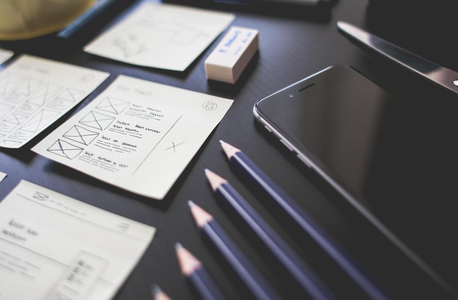 Printmedien und design